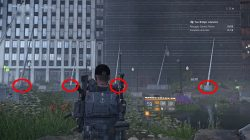 division 2 hunter flag puzzle solution