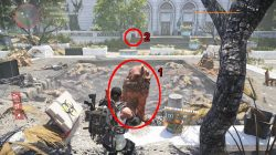 division 2 hunter locations lion statue