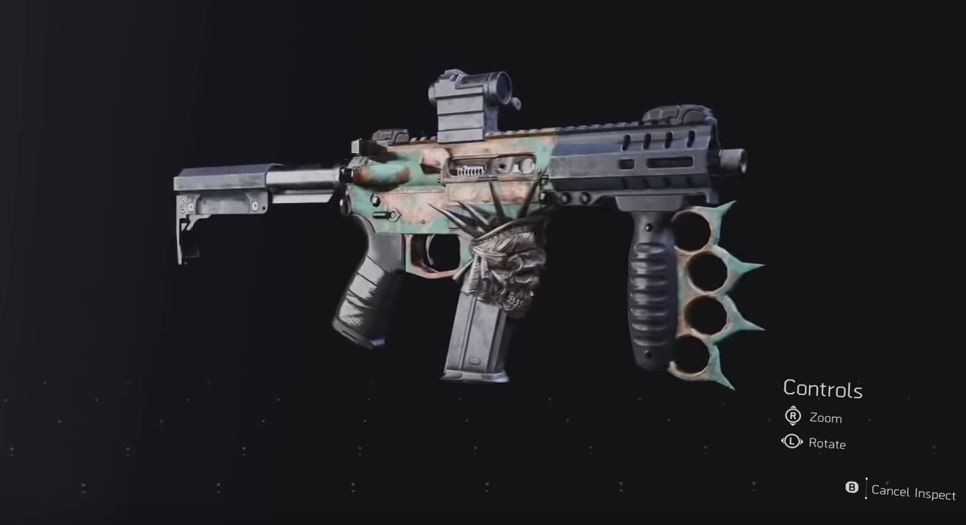 division 2 lady death exotic smg