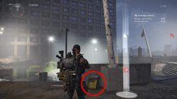 division 2 memorial plaza hunter location