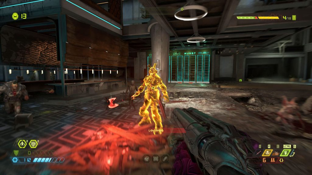 doom eternal review stagger