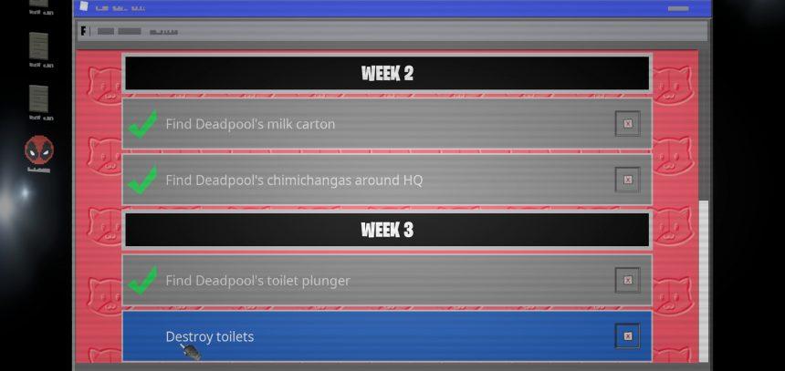 fortnite find toilet plunger destroy toilets locations deadpool challenge