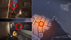 how to find all shd tech cache locations division 2 civic center