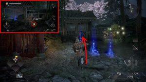 nioh 2 kodama village cursed blossom inner shrine