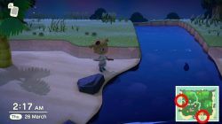 river mouth animal crossing new horizons where to find