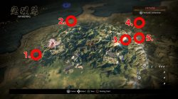 where to find hidden map item locations nioh 2 region 1 awakening