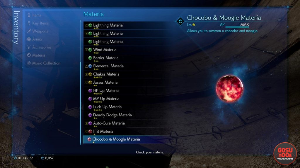 Chocobo & Moogle Materia Locations FF7 Remake