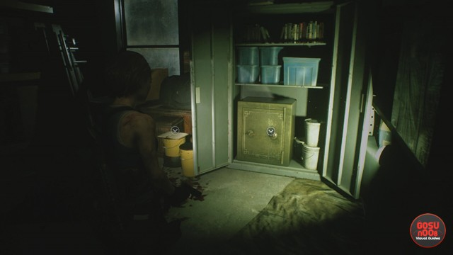 Downtown Safe Combination in Resident Evil 3 Remake