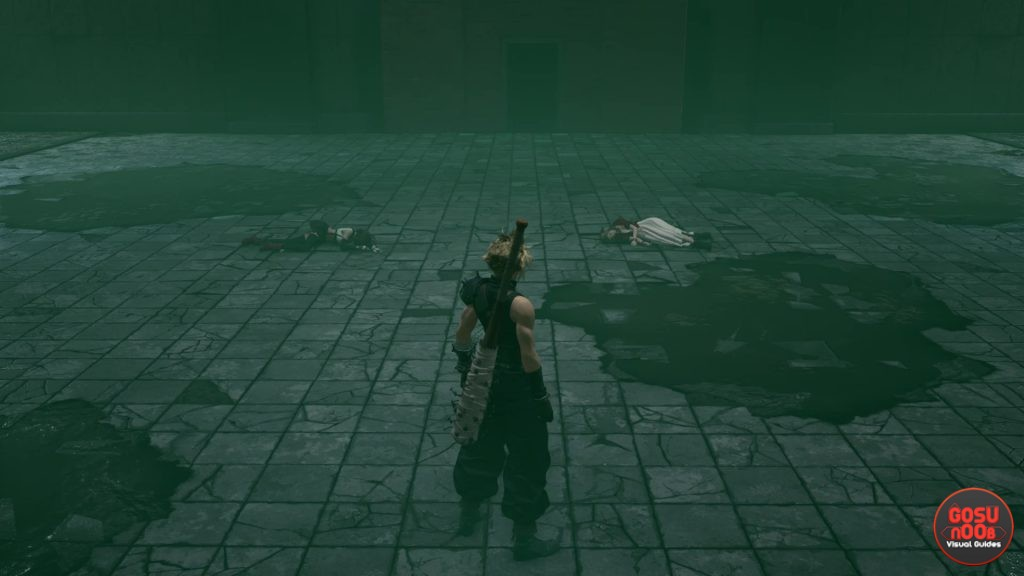 FF7 Remake Check on Aerith or Tifa in Sewers