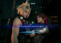 FF7 Remake No Promises or Not Happening Jessie Dialogue