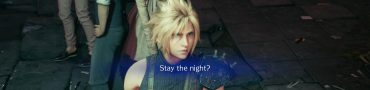 FF7 Remake Stay the Night - No Thanks, How Much, Back Off