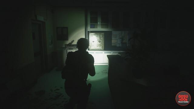 Nurses Station Hospital Safe Combination in Resident Evil 3 Remake
