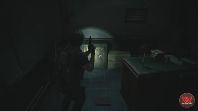Police Station West Office Safe Combination in Resident Evil 3 Remake