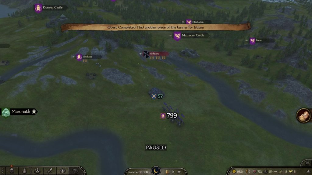 bannerlord bandits hideouts tips