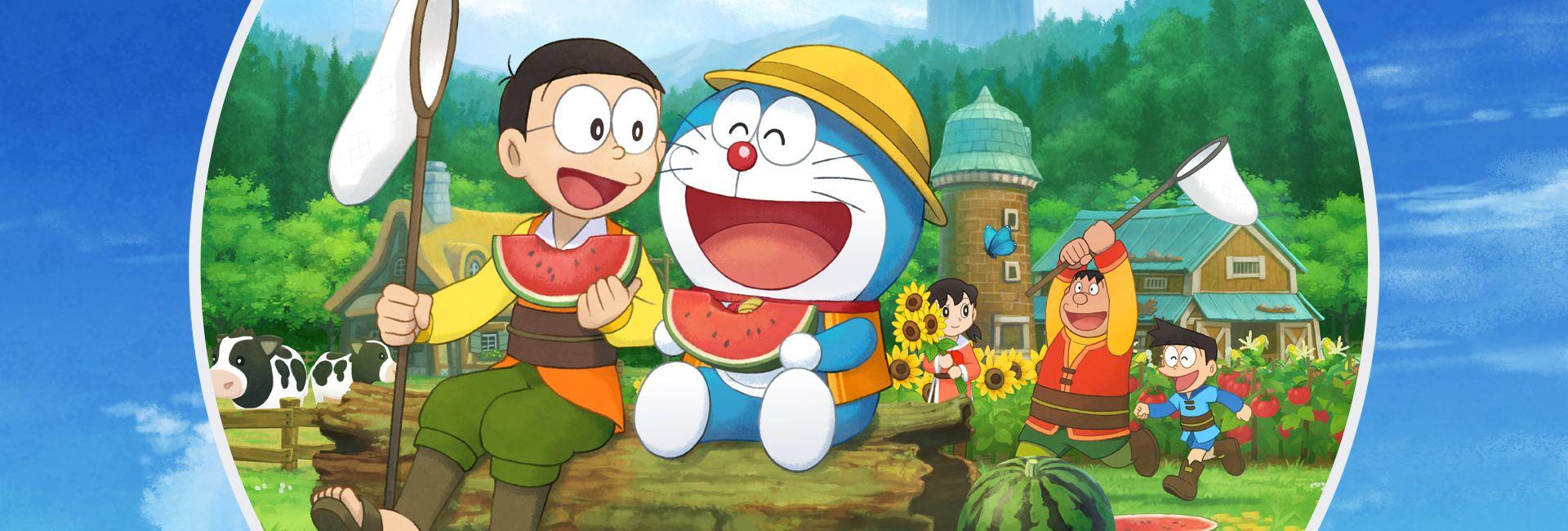 Doraemon, Nobita Nobi, and his friends in a heart-warming journey to create and nurture a flourishing farm