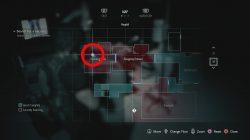 resident evil 3 remake nurses station safe combination location