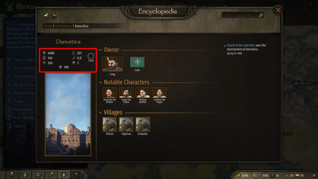 wanted criminal rating mount blade 2 bannerlord