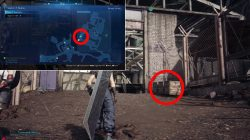 where to find watch security key just flew in from the graveyard ff7 remake
