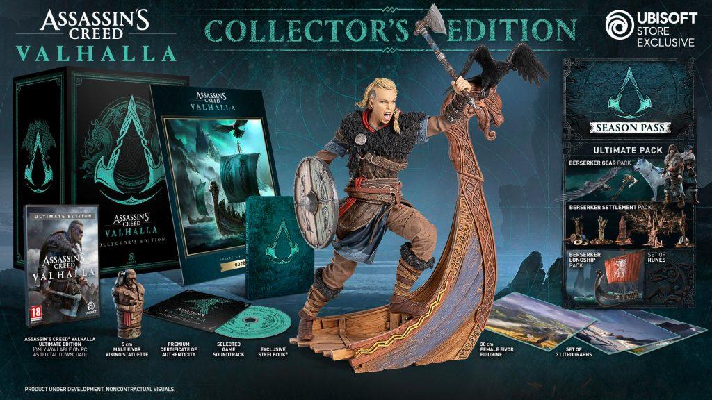 Assassin's Creed Valhalla Pre-Order Bonuses & Special Editions