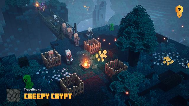 Minecraft Dungeons Creepy Crypt Location - Secret Mission