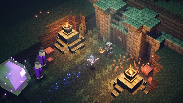 Minecraft Dungeons Iron Golem - Summon Pet - Friend in Need Trophy