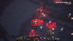 minecraft dungeons secret rune location redstone mines