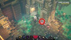 where to find soggy swamp minecraft dungeon secret rune