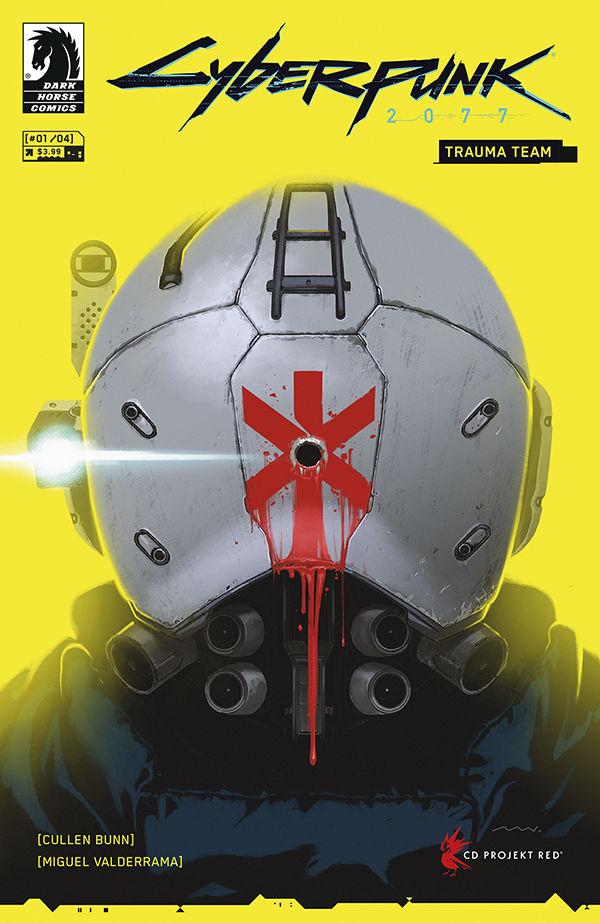 Cyberpunk Trauma Team Comic