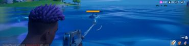 Damage Loot Sharks in Sweaty Sands Fortnite Season 3 Weekly Challenge