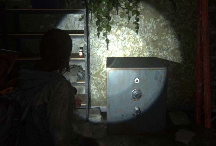 Last of Us 2 Thrift Store Safe Combination Staci number