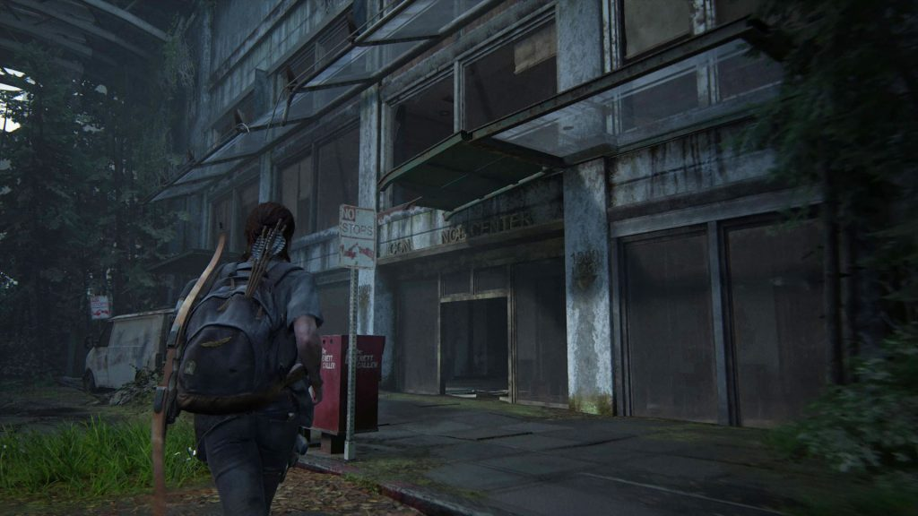 TLOU2 How to enter the locked room with the rope in the conference center seattle day 2 seraphites