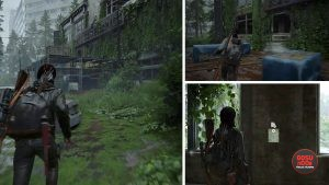 TLOU2 Road to Aquarium The Textile Note Artifact Location