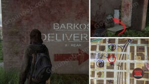 TLOU2 Barkos Locked Door Location