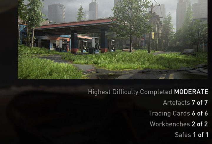 TLOU2 Capitol Hills Artifacts Safe Workbench Trading Cards Locations