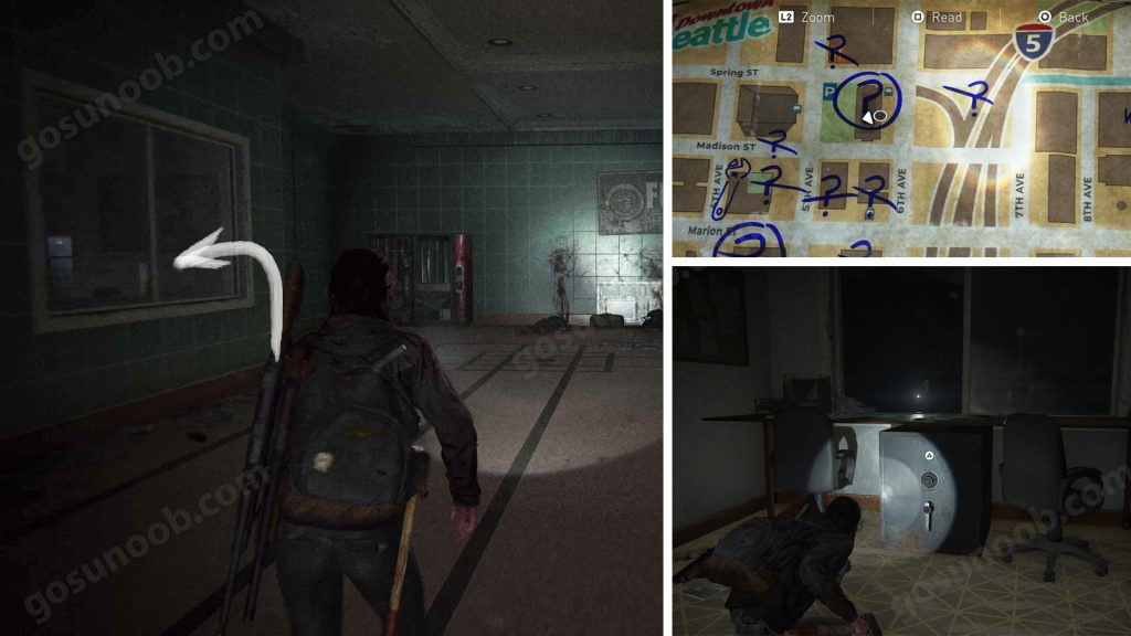 TLOU2 Downtown Courthouse Safe Location