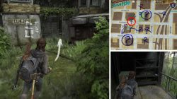 TLOU2 Downtown Gate West 2 Safe Location