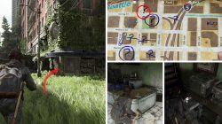 TLOU2 Downtown Ruston Coffee Collectible Locations