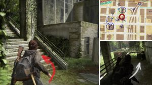 TLOU2 Downtown WLF Community Supply Chest Note Artifact Location