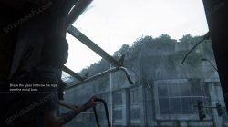 TLOU2 Locked Door Throw the Rope