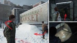 TLOU2 Patrol Supermarket Apology Location