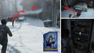 TLOU2 Patrol Trading Card Location