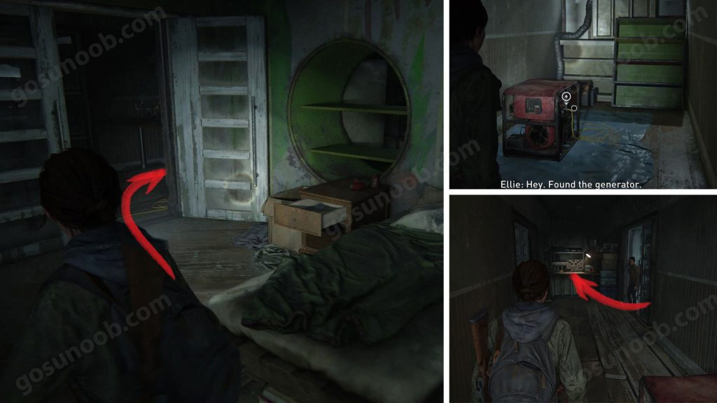 TLOU2 Patrol Working Bench Location