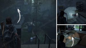 TLOU2 Seattle Day 2 Seraphites Chapter Trading Card Artefact Location