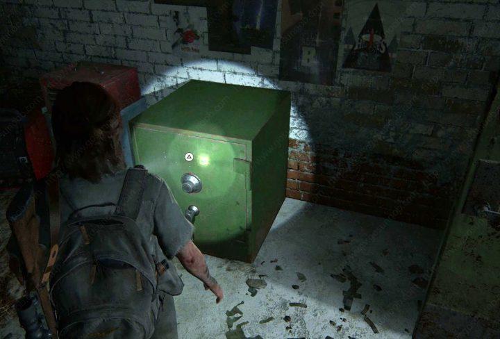 The Last of Us 2 Auto Shop Safe Code Hillcrest Safe Location