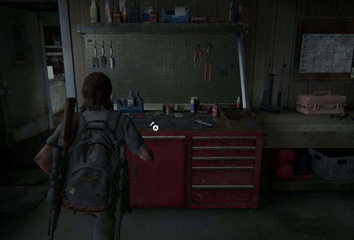 The Last of Us 2 Workbench Locations Prepared for The Worst Trophy