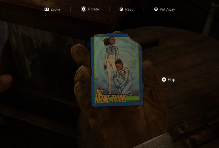 Trading Card Locations - Master Set Trophy - The Last Of Us 2