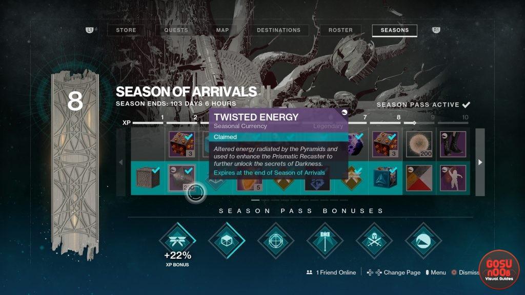 Twisted Energy Destiny 2 Farm - Prismatic Recaster