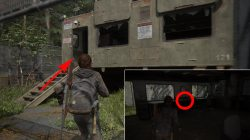 fedra infection artifact last of us 2 location