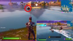 how to complete damage loot sharks in sweaty sands fortnite season 3 weekly challenge