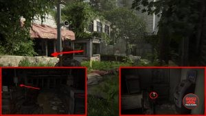 TLOU2 Candelabra Trading Card Location Capitol Hill